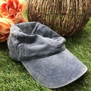 Women's Blue Denim Baseball Hat